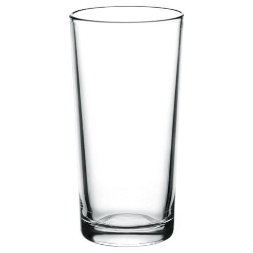 Tesco Basics Hiball Glass, 4 Pack