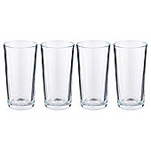 Tesco Basics Set of 4 Highball Glasses