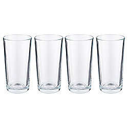 Tesco Basics Hiball Glasses, 4 Pack