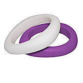 Jellystone Junior BFF Teething Bangles in Purple Grape