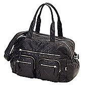 OiOi Faux Lizard Carry All Bag (Black)