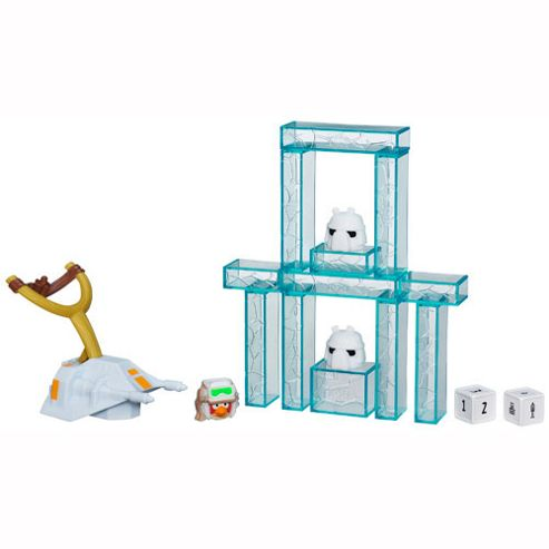 Star Wars Angry Birds Jenga Battle Game - Hoth