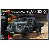 Revell German Truck V3000S 1:35 Military Model Kit - 03234