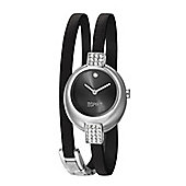 Esprit Bubble Ladies Crystal Set Wraparound Strap Watch - ES105662001