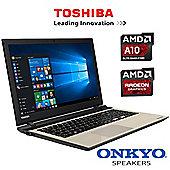 "Toshiba Satellite L50D-C-17W 15.6"" Laptop AMD A10-8700P 16GB RAM 1TB HDD"