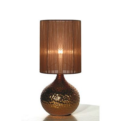Copper Table Lamp Tesco Buy Globen Lighting Shiny One Light Table Lamp - Copper from our Table Lamps range - Tesco