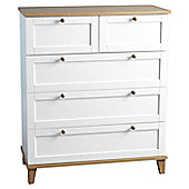 Home Essence Penzance 5 Drawer Chest