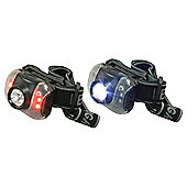 Rolson 2pc 7 LED Head Lamp