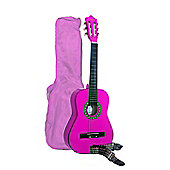 Martin Smith 1/2 Size (34inch) Guitar - Pink