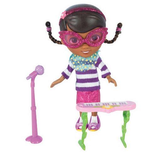 Doc McStuffins Rock Star Doc 12.5cm Doll with Accessories
