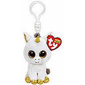 "Ty Beanie Boo Boos 3"" Key Clip - Pegasus the Unicorn"
