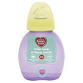 TESCO LOVES BABY WIDE NECK GRIPPER BOTTLE 250ML