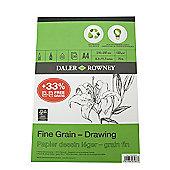 Daler Eco Pad Fine Grain Drawing Pad A4 120g