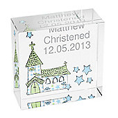 Personalised Church Christening Confirmation Communion Crystal Token