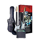 Rocket Electric Guitar Starter Kit - Black