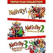 Nativity Triple Pack DVD