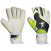 Precision Football Soccer Schmeichology 5 Rollfinger Goalkeeper Gloves - White
