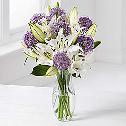 Lily & Allium Bouquet