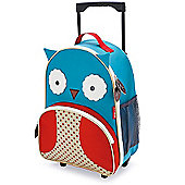 Skip Hop Zoo Luggage Trolley Case - Owl