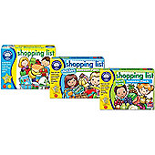 Orchard Toys Shopping List Value Pack