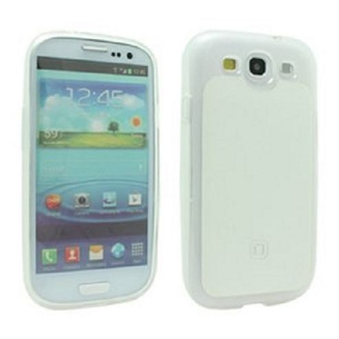 DICOTA - CONSIGNMENT - SAMSUNG GALAXY SIII FLEXI CASE - SEMI TRANSPARENT/WHITE