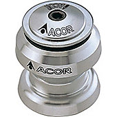 Acor 1inch Alloy Aheadset: 27.0mm Silver.