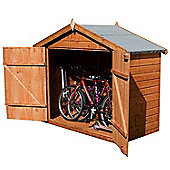 Bike Store 7 x 3 Sutton Premier Tongue & Groove Garden Wooden Bike Store