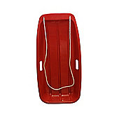 Snow Speeder Plastic Sledge / Toboggan - RED