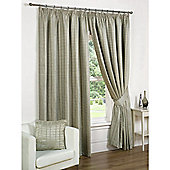 Vancouver Tape 45x90 Natural Lined Curtains