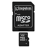 Kingston 4GB Class 4 MicroSDHC Memory Card