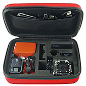Red Eva Hard Case For GoPro