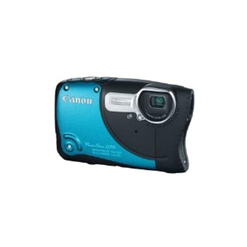 Canon PowerShot D20 Waterproof Digital Camera, Blue, 12.1MP, 5x Optical Zoom, 3.0 inch LCD Screen, GPS