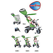 Smart-Trike 4-in-1 Recliner Tricycle, Green