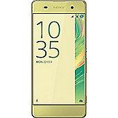 Sony Xperia XA UK SIM-Free Smartphone - Lime Gold