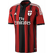 2014-15 AC Milan Adidas Home Shirt (Kids) - Red