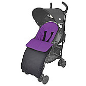Footmuff For Buggy Puschair Stroller Pram Purple