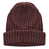 adidas NEO Knitted Chunky Beanie Hat Red