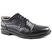 Caravelle Mens Vantage Black Formal Shoes