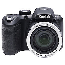 "Kodak AZ365 Digital Bridge Camera, Black, 16MP, 36x Optical Zoom, 3"" LCD Screen"
