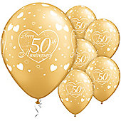11' 50th Anniversary Little Hearts (25pk)