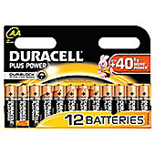 Duracell AA Plus Power Batteries (Pack of 12)