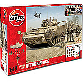 Airfix A50161 British Army Attack Force Gift Set 1:48 A50161 Military Model Kit