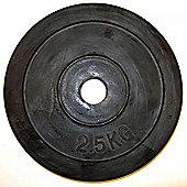 Bodymax Standard Rubber Weight Plates - 2 x 15kg