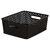 Curver My Style Brown 13L Medium Storage Box