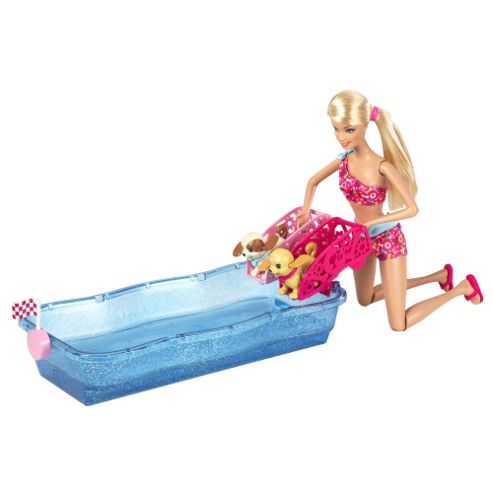 Barbie Swim & Race Pups