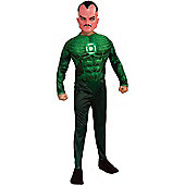 Child Green Lantern Sinestro Costume (Deluxe) Medium