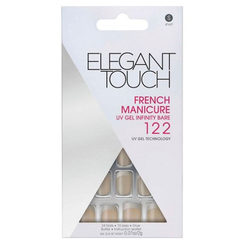 Elegant Touch French, UV Gel Infinity, Bare(S) 122