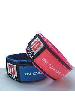 iDME Kids Safety iD Wristband Pink