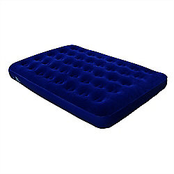 North Gear Double Flocked Air Bed Inflatable Festival Mattress Without Pump
