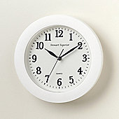 Stewart Superior Plastic Quartz Wall Clock